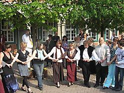 -Tanzen vorm Rathaus Boizenburg